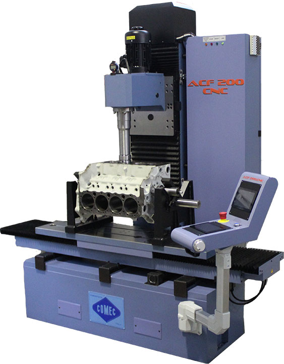 Comec ACF200 CNC cylinder boring-resurfacing machine
