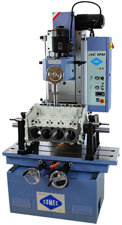 Comec AC170 boring machine for car & truck engines