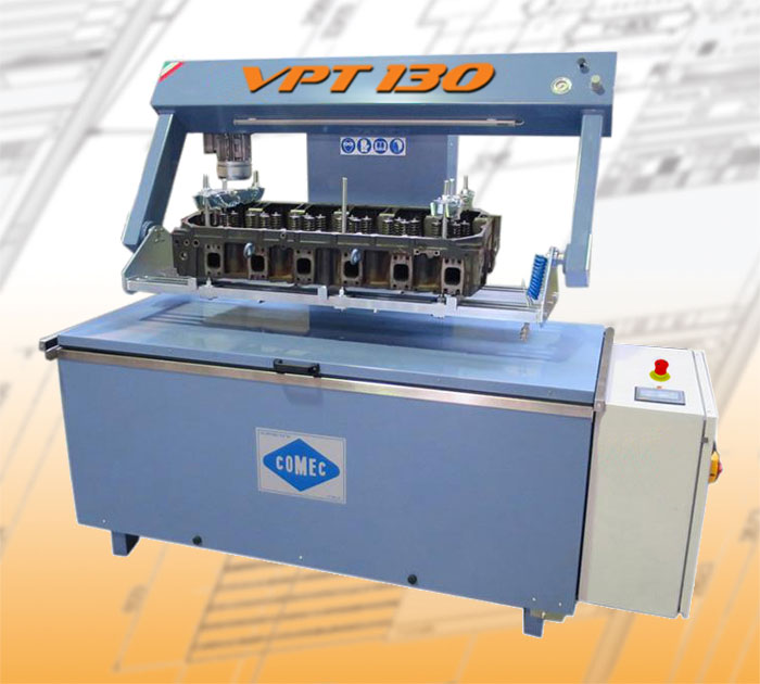 Comec cylinder head machines VPT130 Pressure tester for cylinder heads and blocks