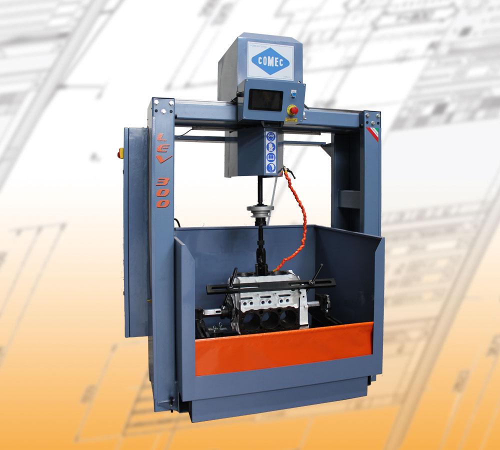 Comec honing machines - LEV300 Cylinder honing machine