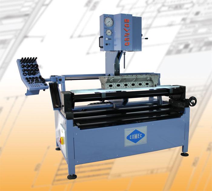 Comec cylinder head machines BGV260 Cylinder head guide press
